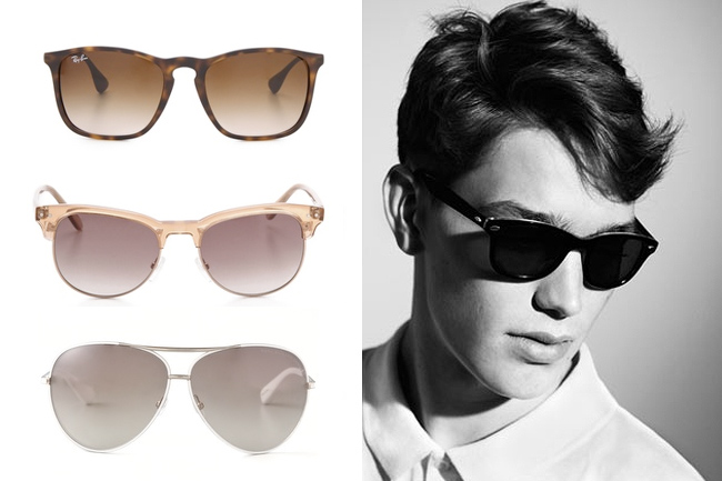 sunglasses, sunnies, sunshades, ray-ban, madewell, marc by marc jacobs
