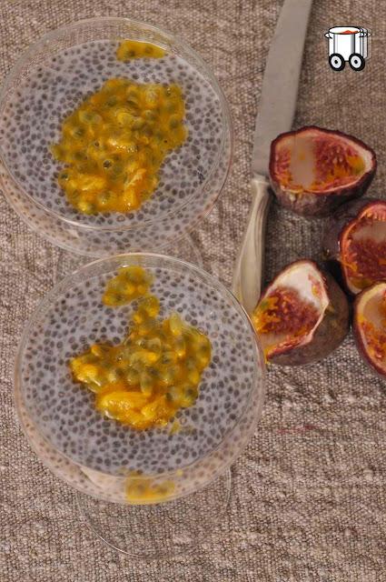 Szybko Tanio Smacznie - Pudding chia z marakują