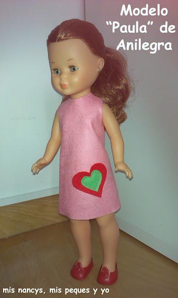 Modelo Paula de Anilegra para Nancy