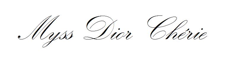 Myss Dior Chérie