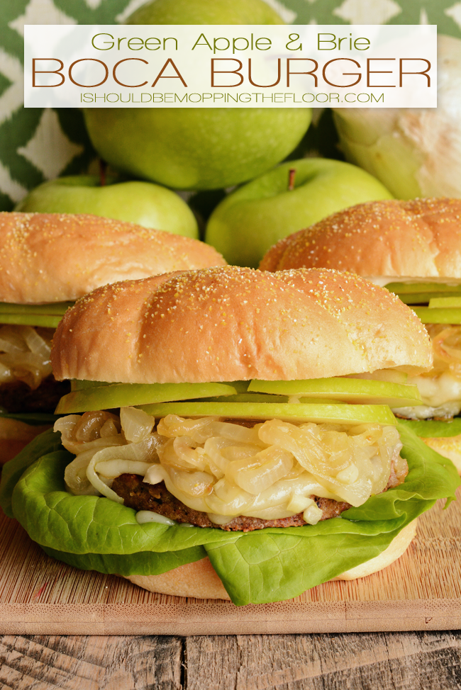 Green Apple and Brie Boca Burgers Recipe