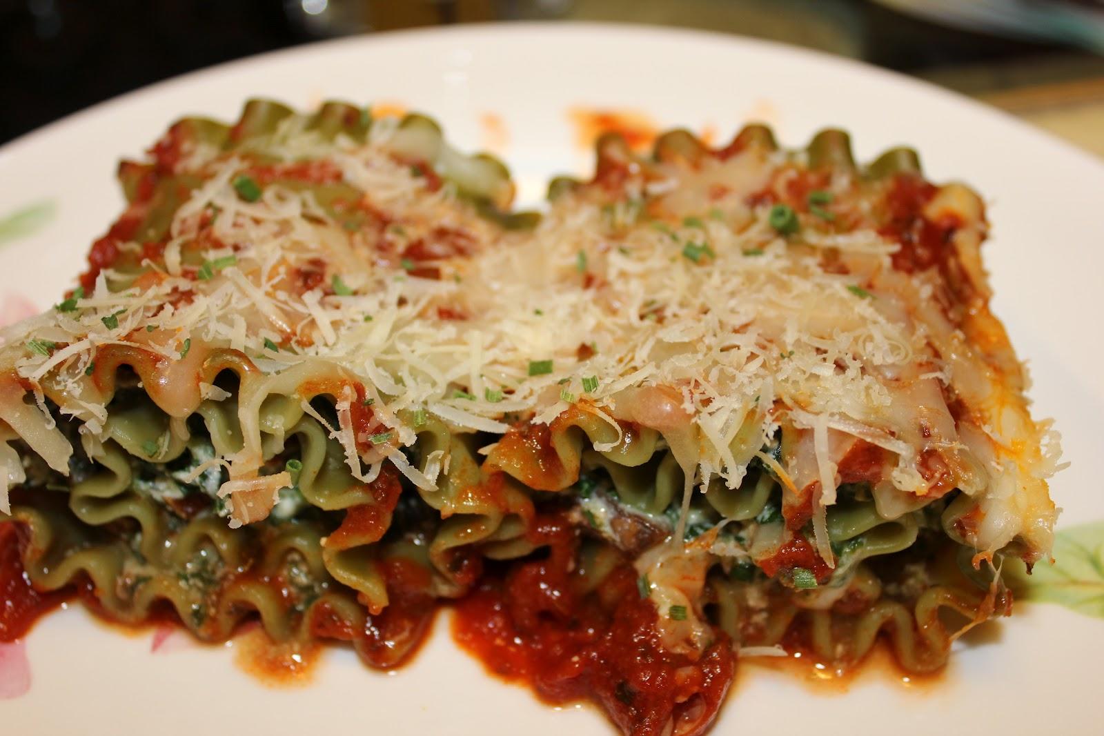 Erin's Kosher Cooking Adventures: Spinach Lasagna Roll-Ups