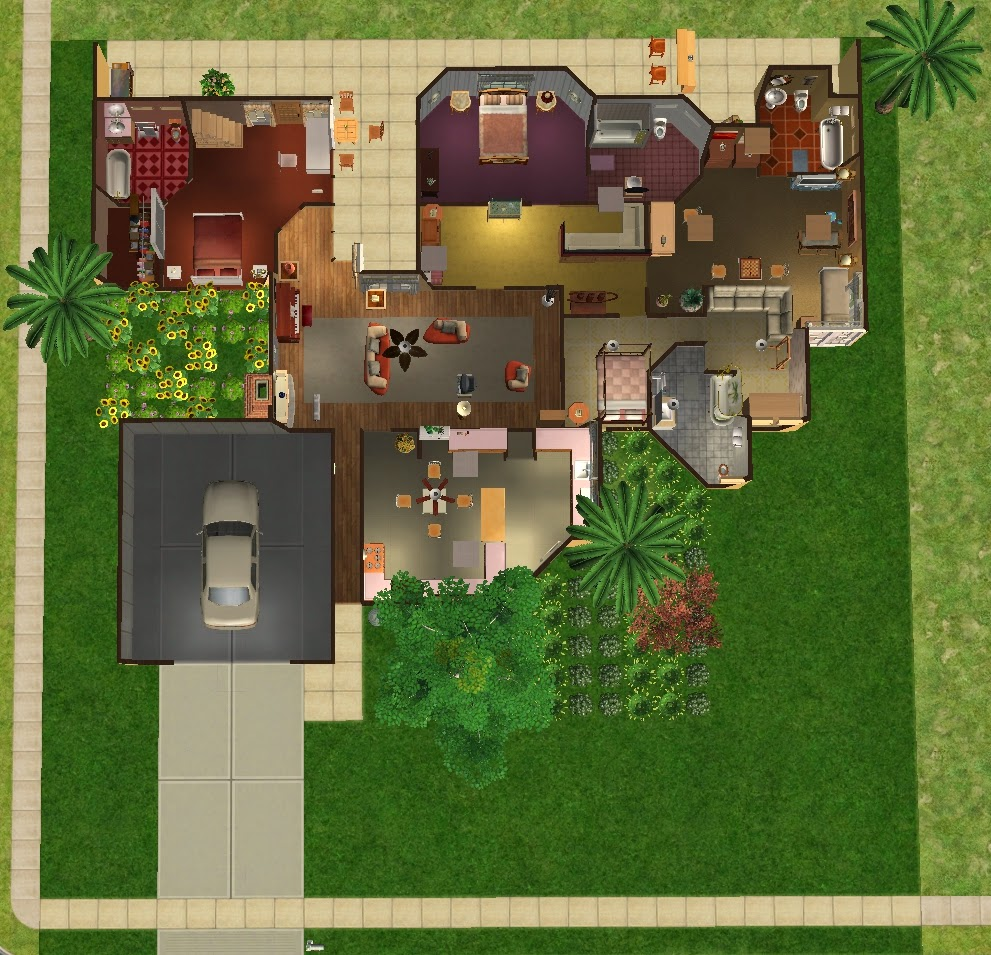 the sims 2 6151 richmond st miami fl golden girls home no cc