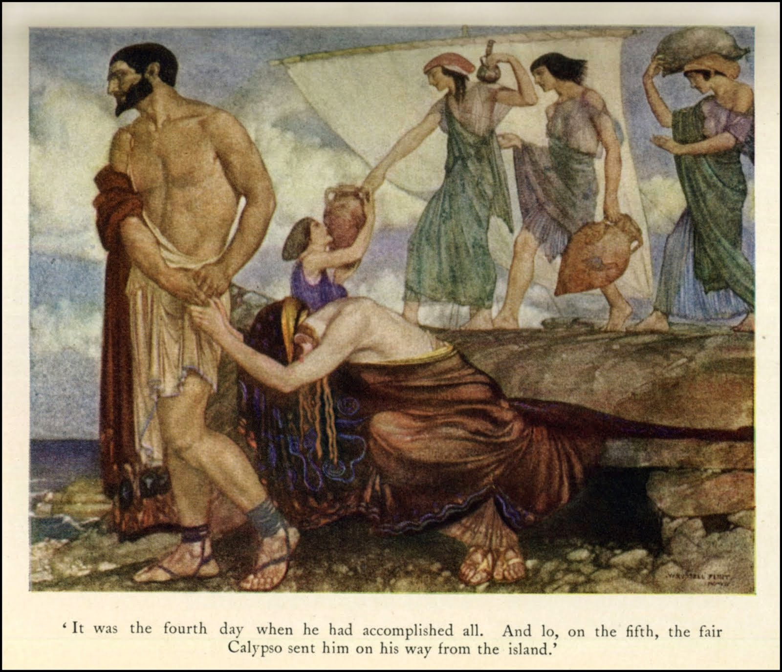 homers the odyssey and joseph campbells The odyssey is homer's epic of odysseus' 10-year struggle to return home after the trojan war while odysseus battles mystical creatures and faces the wrath o.