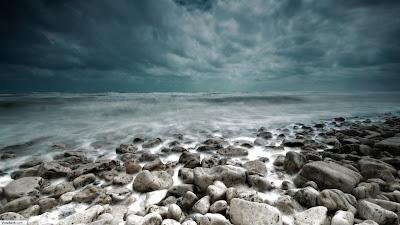 Storm At Sea Wallpaper