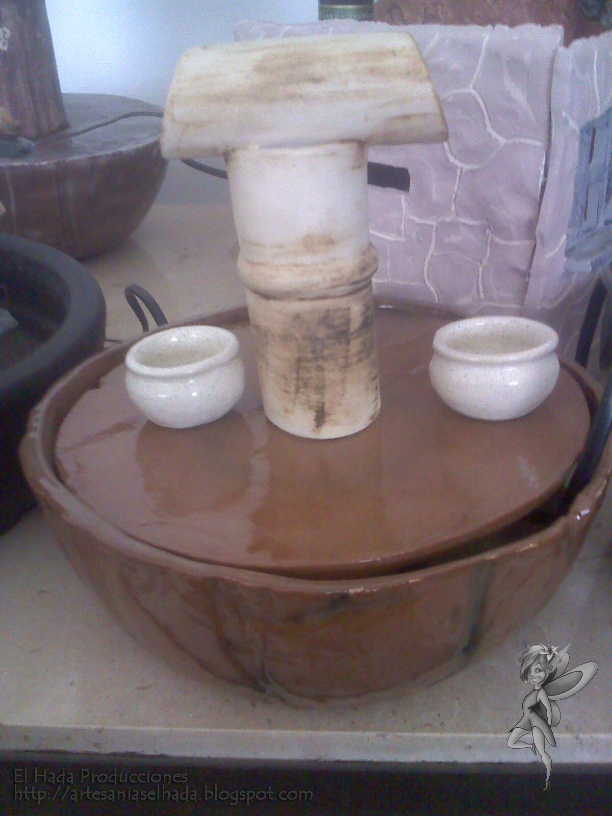 artesan as el hada nuevos dise os en fuentes de agua On diseno de fuentes de agua