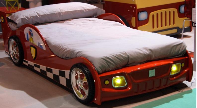 Litera tren con forma de castillo - Coches cama para ninos ...