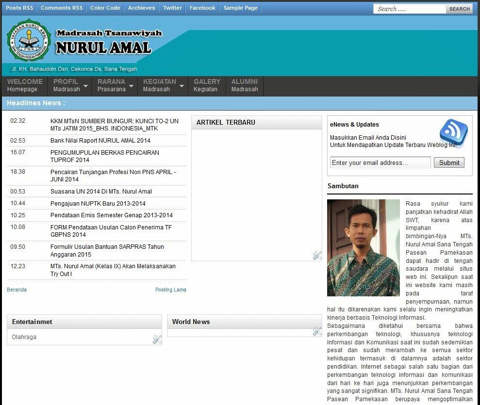 Lembaga Pendidikan Nurul Amal, LPI Nurul Amal, MI Nurul Amal,