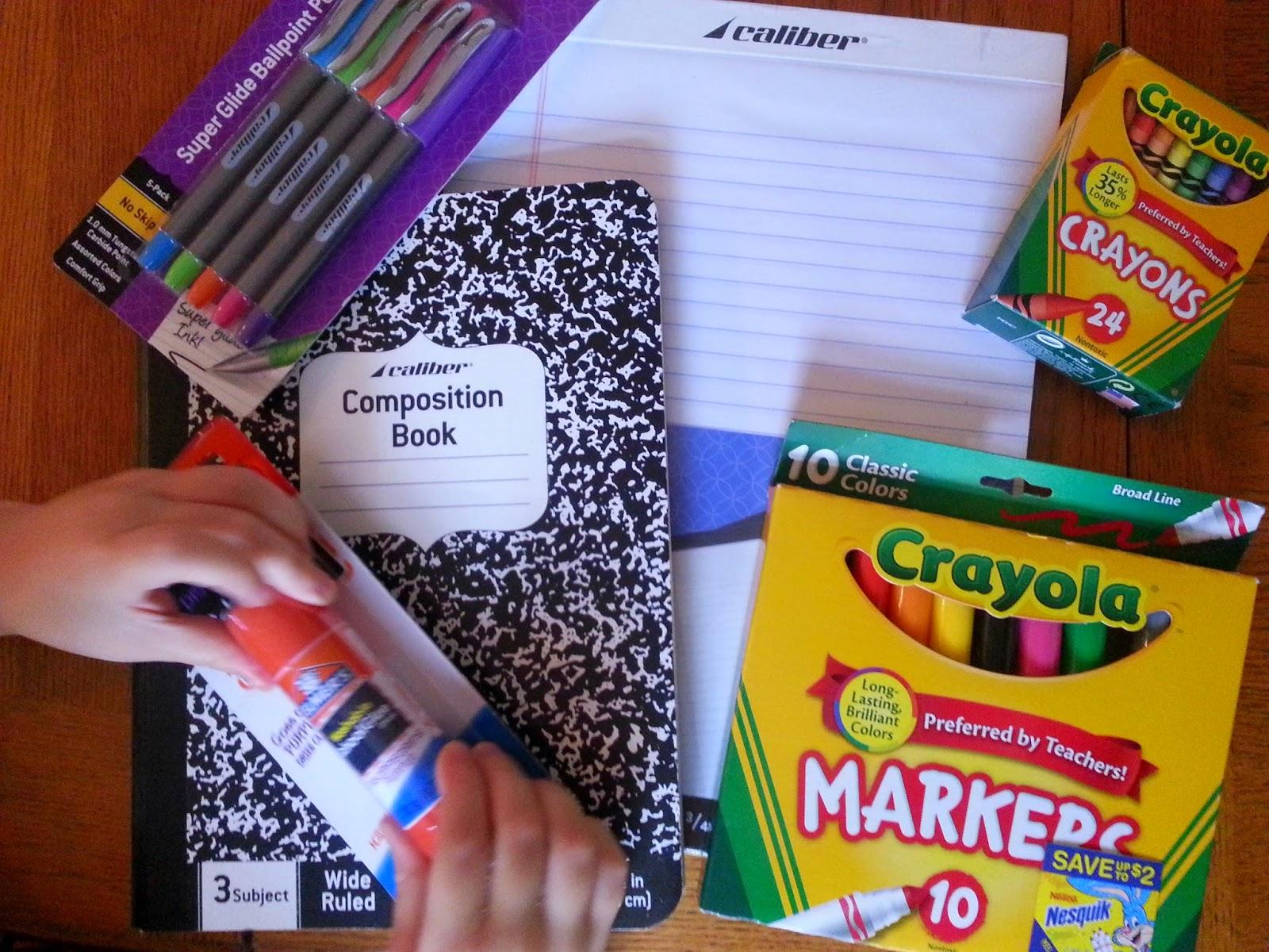 school supplies cvs school supplies