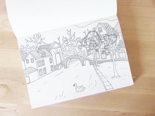 Emma Margaret Holiday Sketches 2016