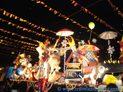 Electric Masskara on Tourism Strip