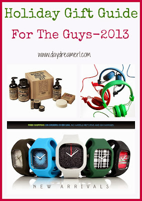 Holiday Gift Guide- For The Guys 2013