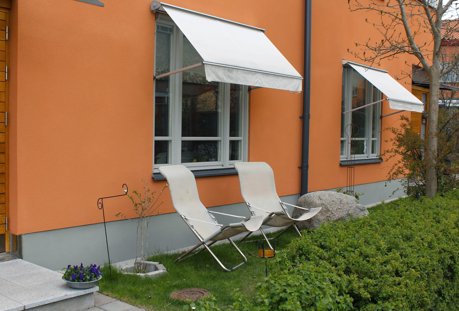 Lotta InsideOut: Trädgårdsdesign - liten tomt i norrläge