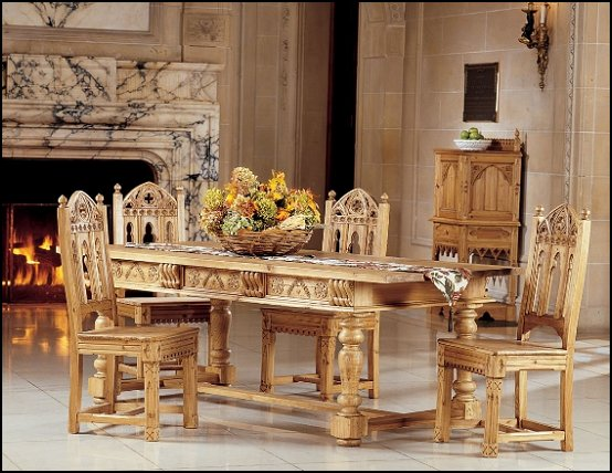 medieval dining table. Black Bedroom Furniture Sets. Home Design Ideas