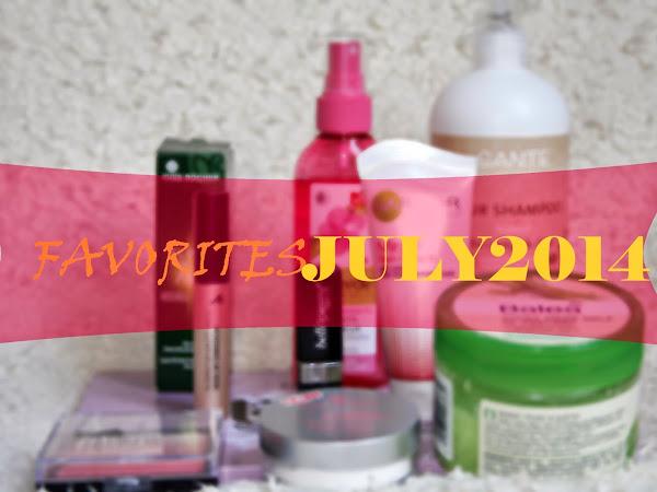 FAVORITES   July 2014