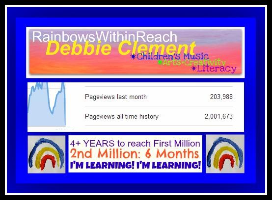 photo of: Blogging Milestone: 2nd Million at RainbowsWithinReach