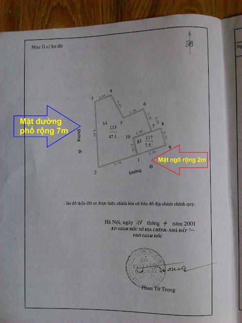 Sổ đỏ chính chủ căn nhà 3 tầng giá rẻ mặt phố Trần Quý Cáp, Văn Chương, Đống Đa, HN