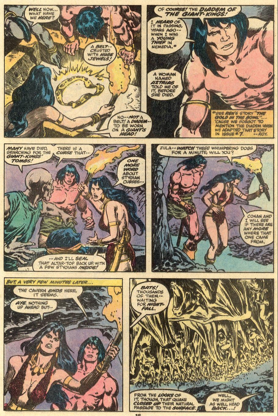 Conan the Barbarian (1970) Issue #90 #102 - English 10