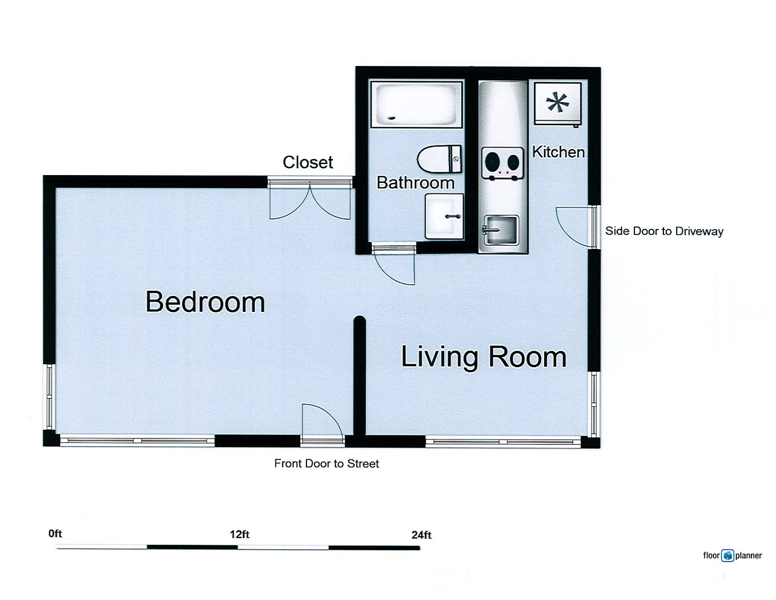 Suite revival floor plan for My floorplanner