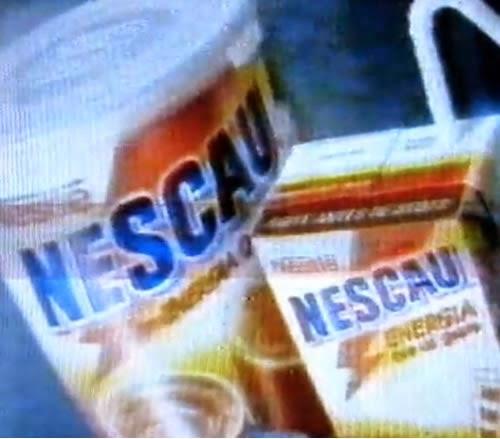 Sob muita aventura o Nescau foi apresentado em um interessante VT em 1996.