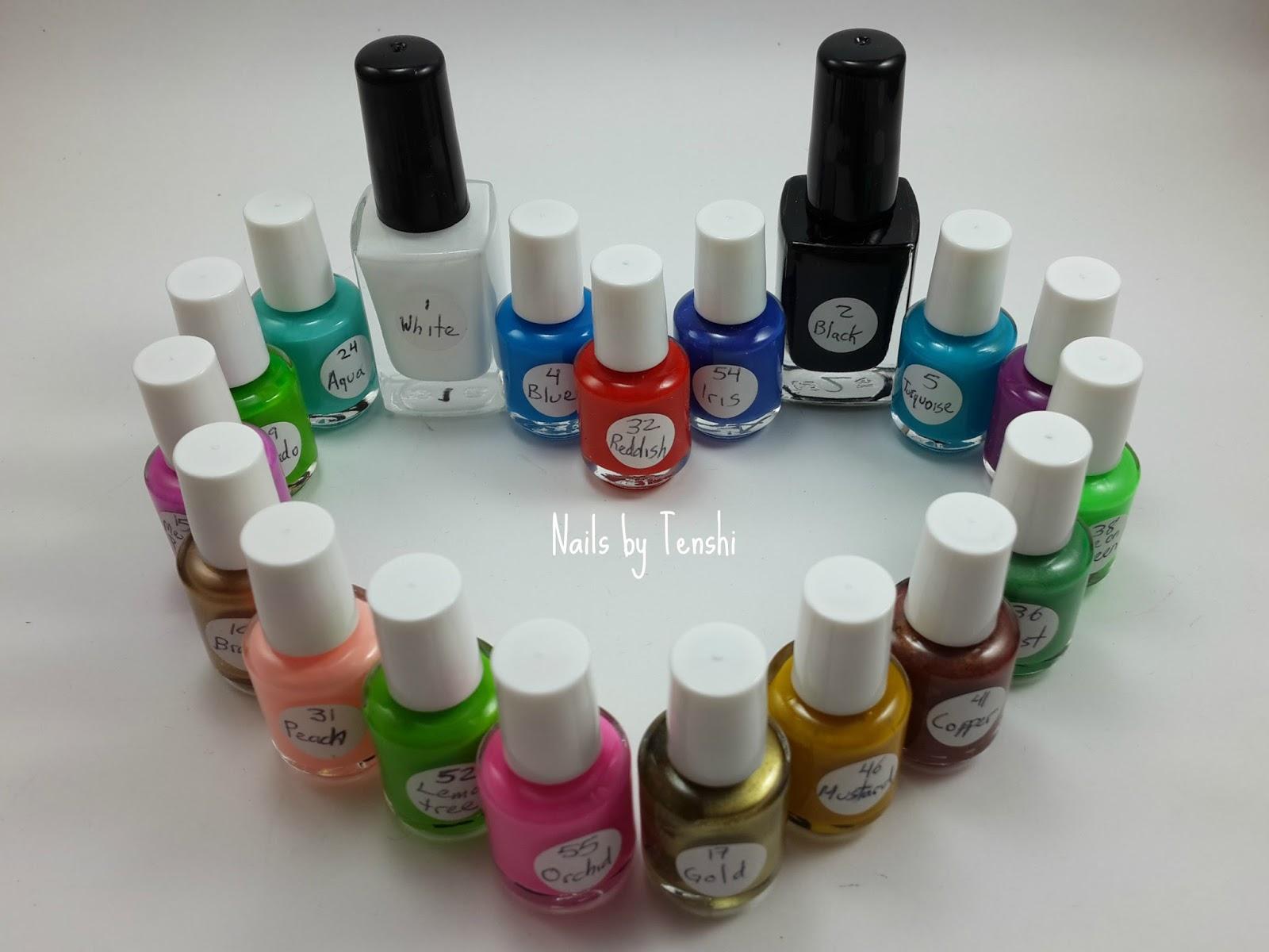Nails by Tenshi: Esmaltes Mundo de Uñas