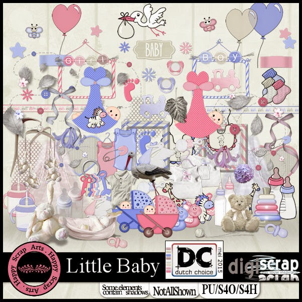 HSA - Little baby kit preview