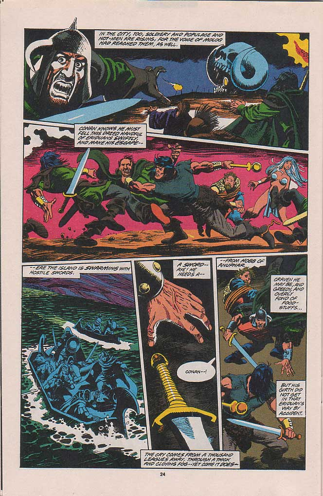 Conan the Barbarian (1970) Issue #263 #275 - English 18