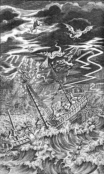 Tempest de Shakespeare, por Nicholas Rowe