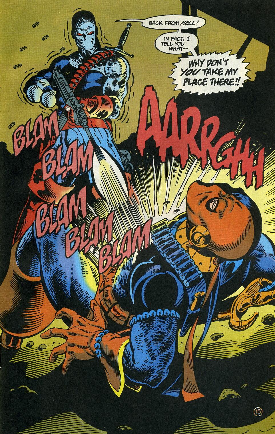 Deathstroke (1991) Issue #3 #8 - English 19