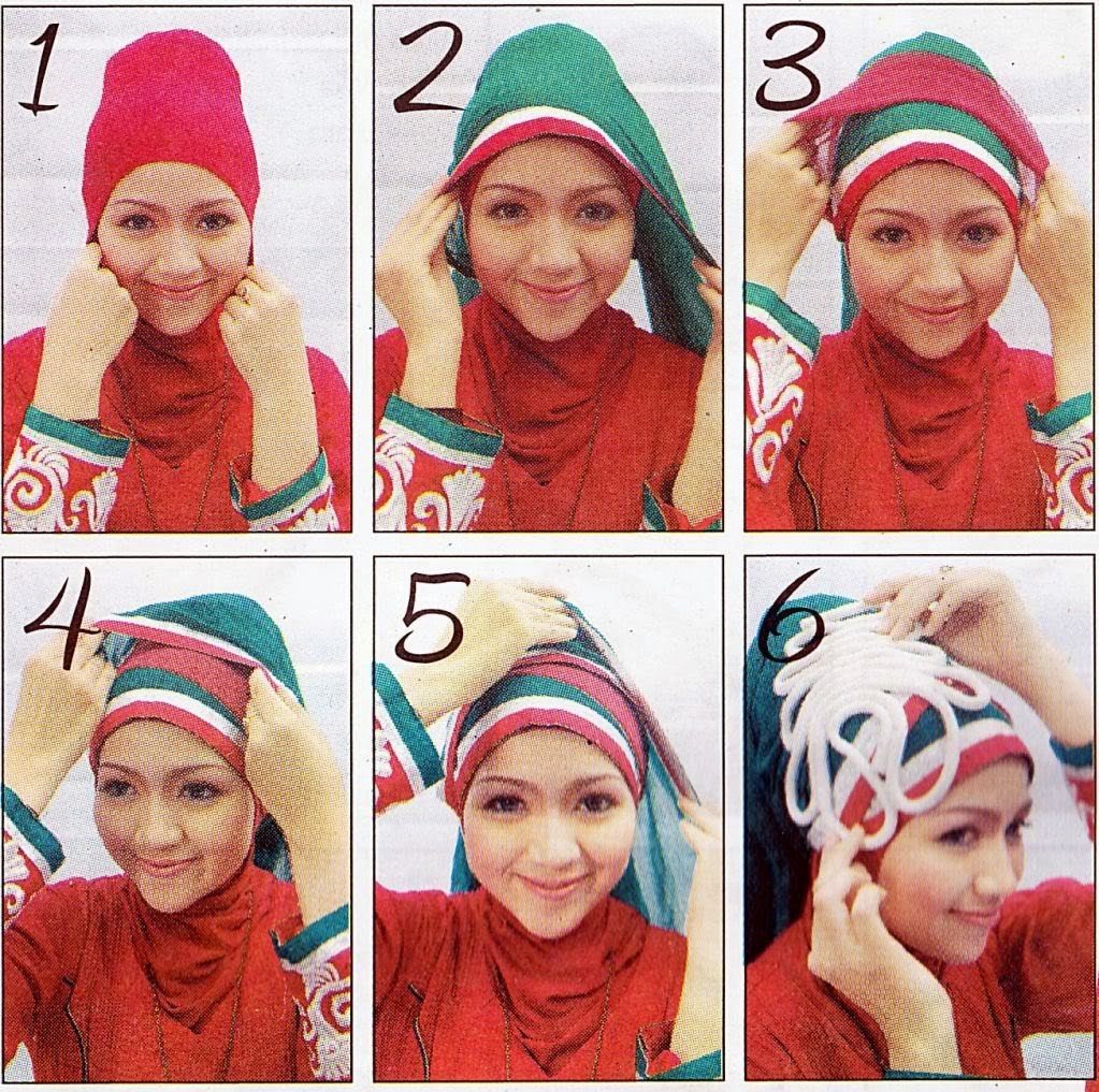 18 Tutorial Hijab Pesta April Jasmin Tutorial Hijab Terbaru
