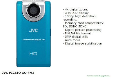 JVC PICSIO GC-FM2 blue