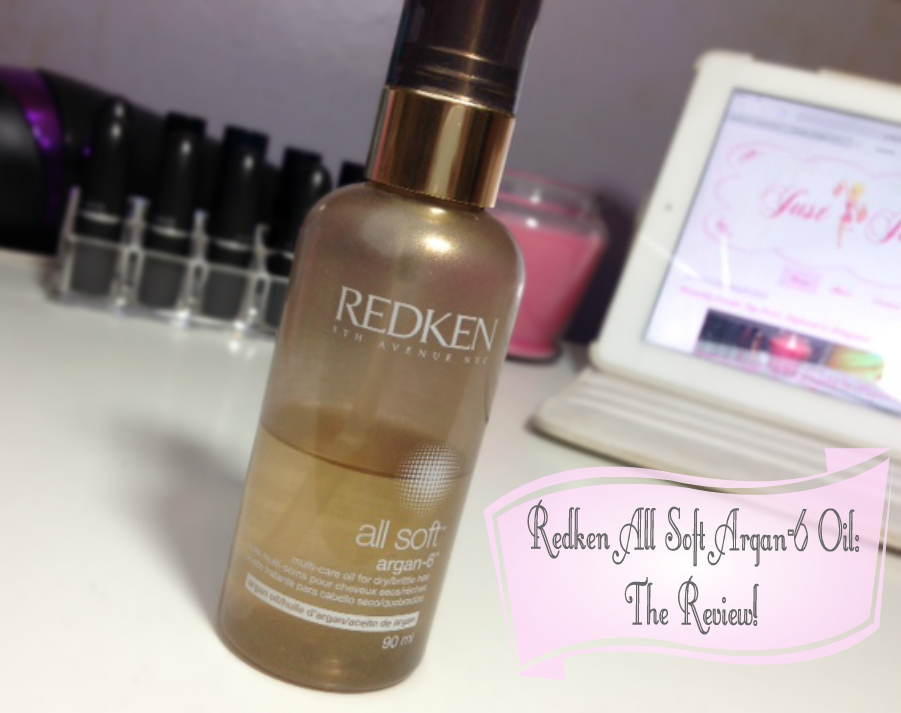 Redken All Soft Argan-6 Oil: The Review!