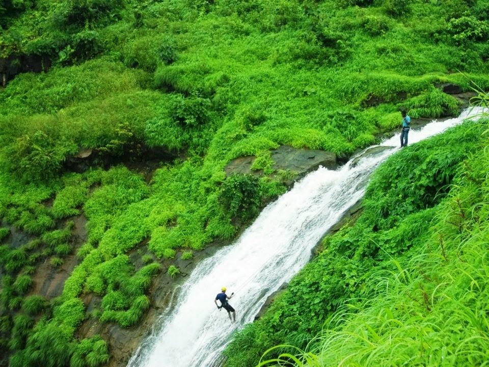 organizing a waterfall