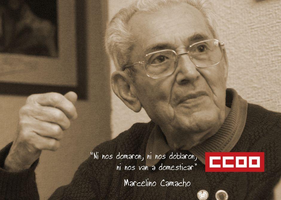 21 enero Centenario de Marcelino Camacho