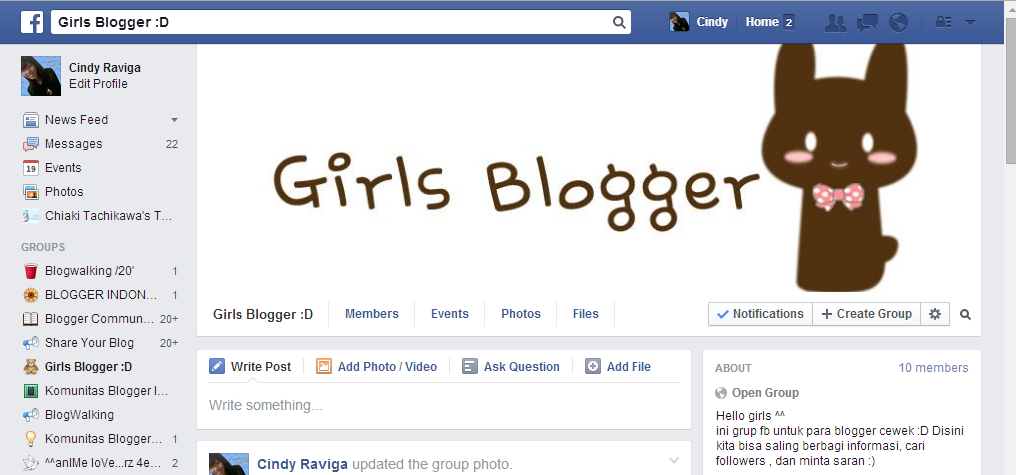 girls blogger