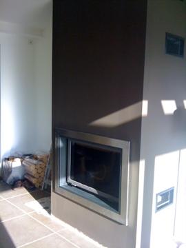 sobrico r alisation d 39 une chemin e. Black Bedroom Furniture Sets. Home Design Ideas