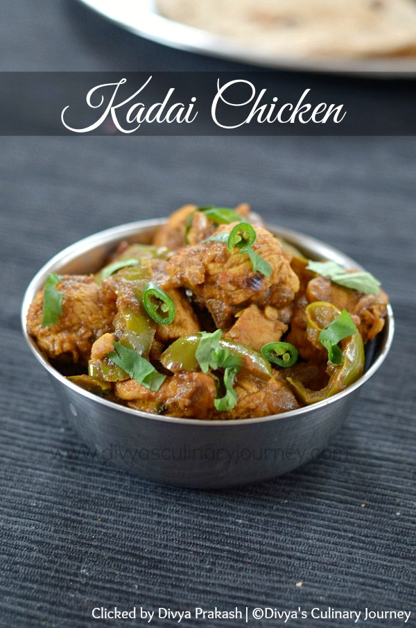 How to make restaurant style kadai chicken at home