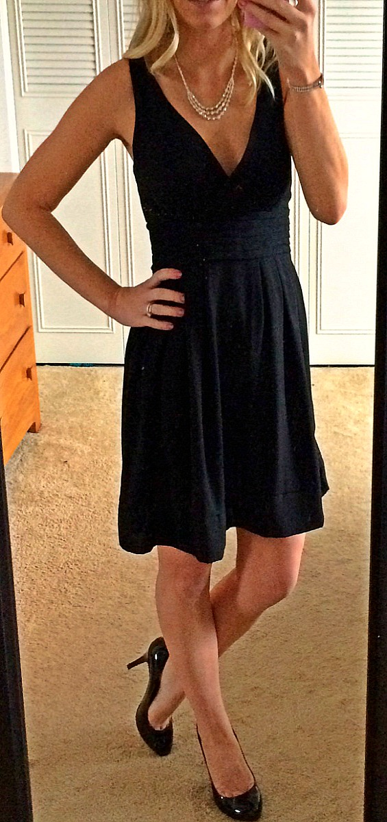 A little black dress is perfect for any occation