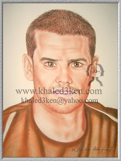 DRAWING PORTRAIT GALLERY FOOTBALL swiss tranquillo barnetta KHALED3KEN
