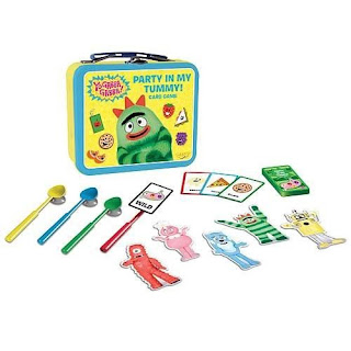 yo gabba gabba party in my tummy lunch box game sale