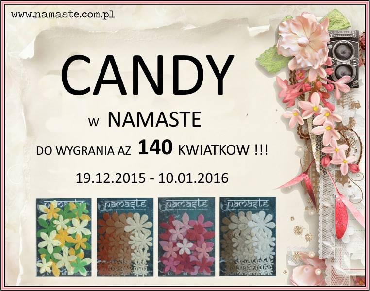 Candy w Namaste