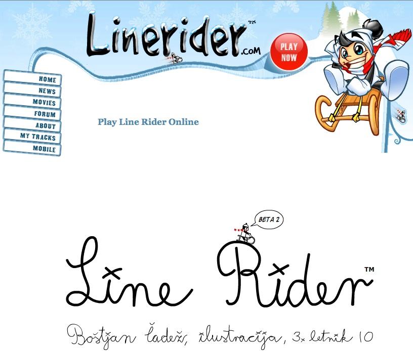line rider game