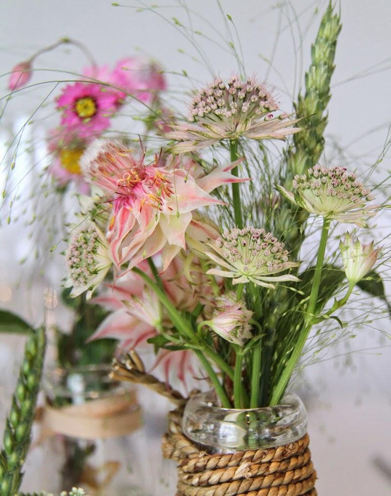 ideas de ramos campestres con flores de verano