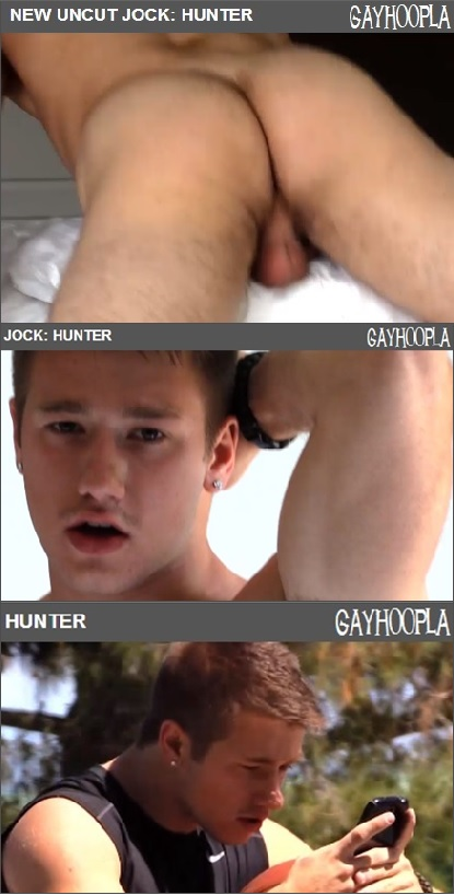 HUNTER ON VIDEO:<br>Hot, Hung, Young, Uncut