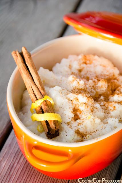 Arroz con leche cremoso - Receta facil tradicional
