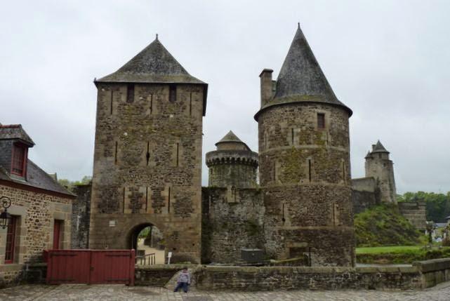 Castillo de Fougères.