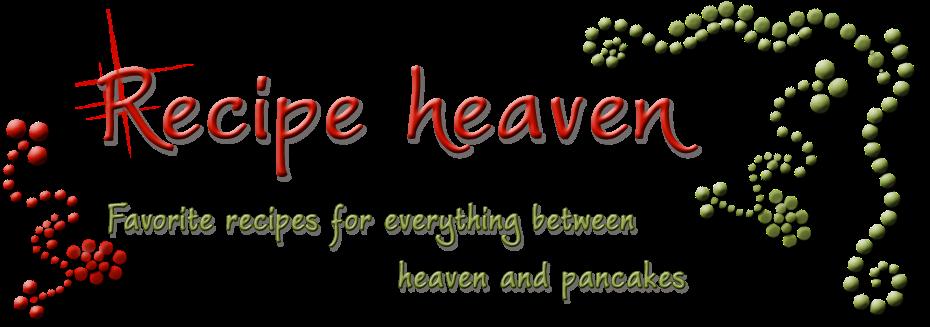 Recipe Heaven