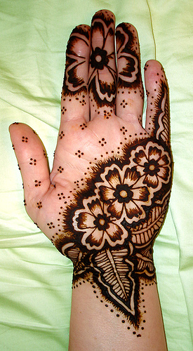 Mehndi Patterns Kids : Mehndi designs easy for kids