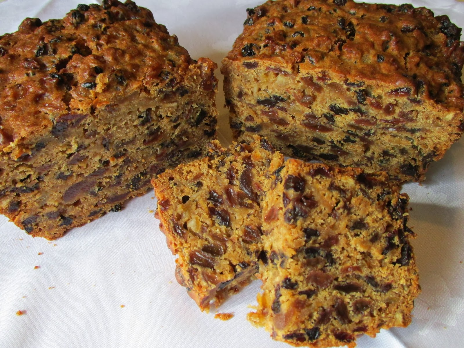 Boiled Fruit Cake With No Butter Or Sugar