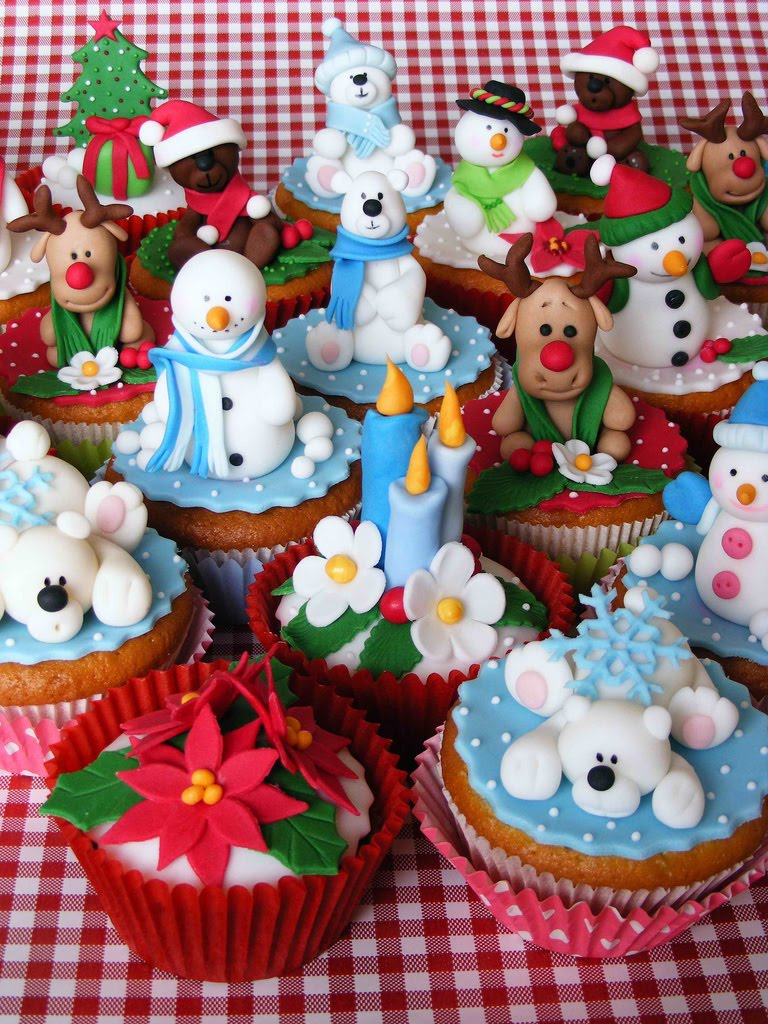 Christmas Cupcake Ideas : Cute Cupcakes. All The Time.